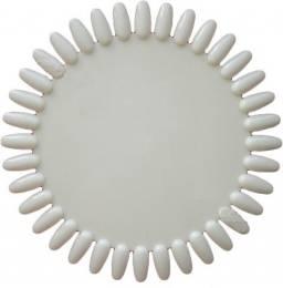 Vzorník Sluníčko na laky, gely - Mléčný, 36 pozic