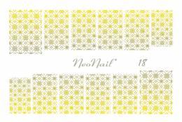 NeoNail vodolepky, vodové obtisky - 4955-26