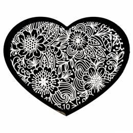 Matriță decorare NANI Inimă - 10