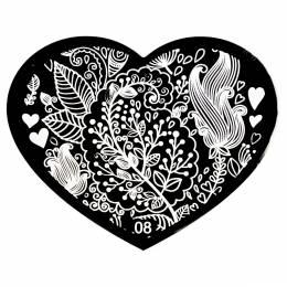 Matriță decorare NANI Inimă - 8
