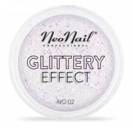 Pulbere glitter NeoNail Glittery Effect - 02