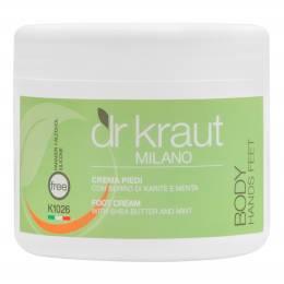 Cremă pentru picioare Dr. Kraut 500 ml - Cu mentă și unt de shea
