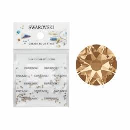 Pietricele Swarovski SS3 100 buc. - Crystal Golden Shadow