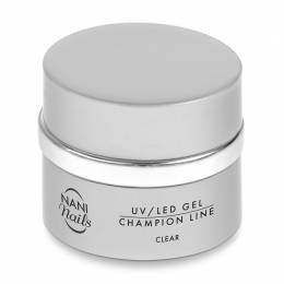 Gel UV/LED NANI Champion line 50 ml - Clear