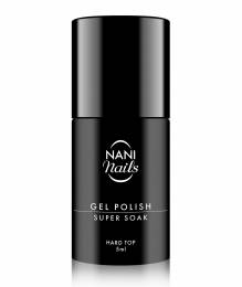 Oja semipermanentă NANI Super Soak 5 ml - Hard Top