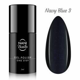 Oja semipermanenta NANI One Step Lux 5 ml - Navy Blue