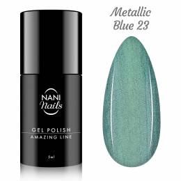 Oja semipermanenta NANI Amazing Line 5 ml - Metallic Blue