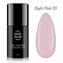Oja semipermanenta NANI Amazing Line 5 ml - Light Pink
