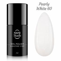 Oja semipermanenta NANI Amazing Line 5 ml - Pearly White