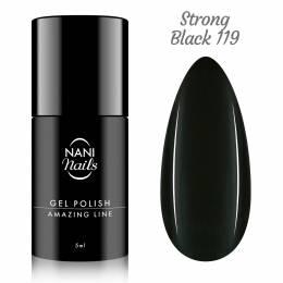 Oja semipermanenta NANI Amazing Line 5 ml - Strong Black