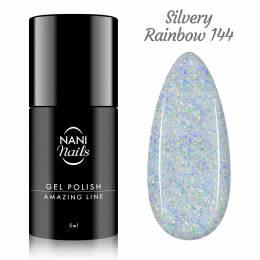 Oja semipermanenta NANI Amazing Line 5 ml - Silvery Rainbow