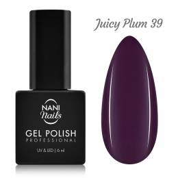 Ojă semipermanentă NANI 6 ml - Juicy Plum