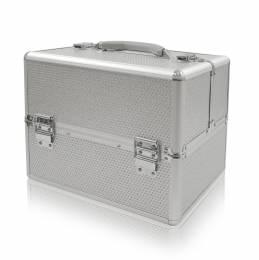 Geantă cosmetică NANI Diamond Effect - Silver