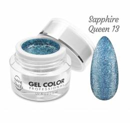 Gel UV/LED NANI Glamour Twinkle 5 ml - Sapphire Queen