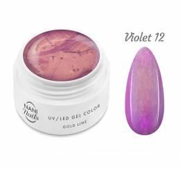 Gel UV NANI Gold line 5 ml - Violet