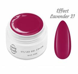 Gel UV NANI Nice One Color 5 ml - Effect Lavender