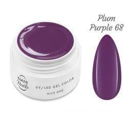 Gel UV NANI Nice One Color 5 ml - Plum Purple