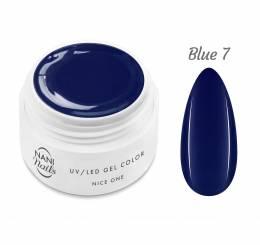 Gel UV NANI Nice One Color 5 ml - Blue