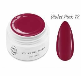 Gel UV NANI Nice One Color 5 ml - Violet Pink