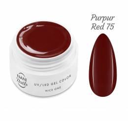Gel UV NANI Nice One Color 5 ml - Purpur red