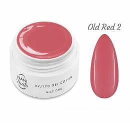 Gel UV NANI Nice One Color 5 ml - Old Red