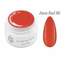 Gel UV NANI Nice One Color 5 ml - Lava Red