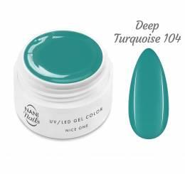 Gel UV NANI Nice One Color 5 ml - Deep Turquoise