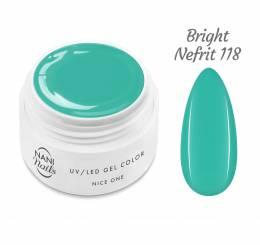 Gel UV NANI Nice One Color 5 ml - Bright Nefrit