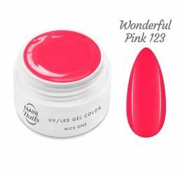 Gel UV NANI Nice One Color 5 ml - Wonderful Pink