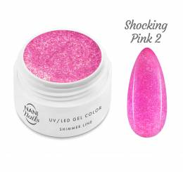 Gel UV NANI Shimmer Line 5 ml - Shocking Pink