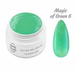 Gel UV NANI Shimmer Line 5 ml - Magic of Green