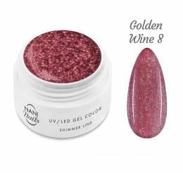 Gel UV NANI Shimmer Line 5 ml - Golden Wine