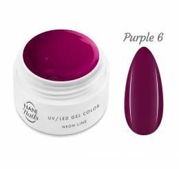 Gel UV NANI Neon Line 5 ml - Violet