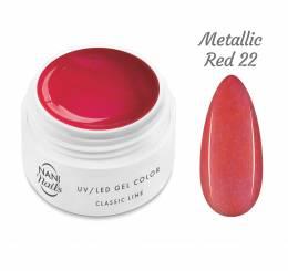 Gel UV NANI Classic Line 5 ml - Metallic Red