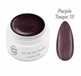 Gel UV NANI Classic Line 5 ml - Purple Taupe