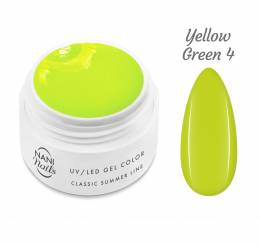 Gel UV NANI Classic Summer Line 5 ml - Yellow Green