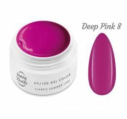 Gel UV NANI Classic Summer Line 5 ml - Deep Pink