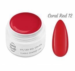 Gel UV NANI Classic Summer Line 5 ml - Coral Red