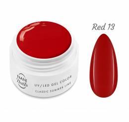 Gel UV NANI Classic Summer Line 5 ml - Red