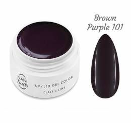Gel UV NANI Classic Line 5 ml - Brown Purple