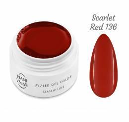 Gel UV NANI Classic Line 5 ml - Scarlet Red