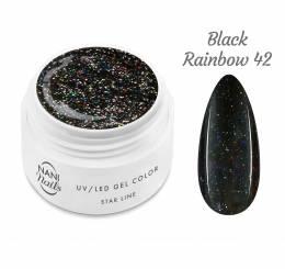 Gel UV NANI Star Line 5 ml - Black Rainbow