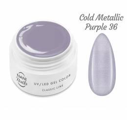 Gel UV NANI Classic Line 5 ml - Cold Metallic Purple