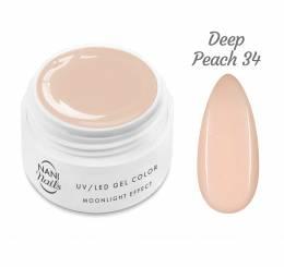 Gel UV NANI Moonlight Effect 5 ml - Deep Peach