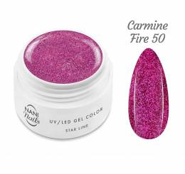 Gel UV NANI Star Line 5 ml - Carmine Fire