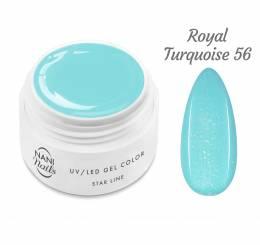Gel UV NANI Star Line 5 ml - Royal Turquoise