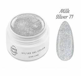 Gel UV NANI Star Line 5 ml - Milk Silver