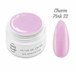 Gel UV NANI New Metallic Line 5 ml - Charm Pink