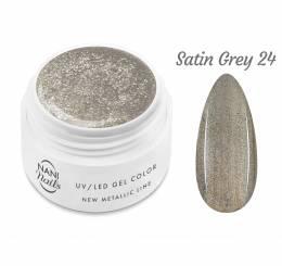 Gel UV NANI New Metallic Line 5 ml - Satin Grey