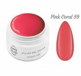 Gel UV NANI Classic Line 5 ml - Pink Coral